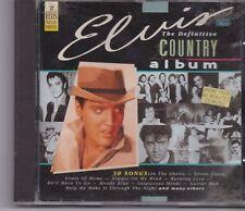 Elvis Presley-The Definitive Country album cd album