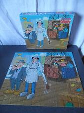 Rare Vintage Puzzle Inspecteur Gadget MB 1983 (100 pièces)