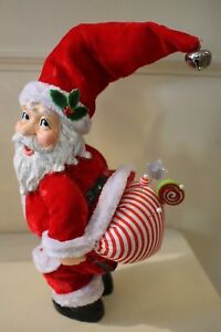 Katherine´S Collection Pin Cushion Santa Claus Santa Figurine Red 29 CM New