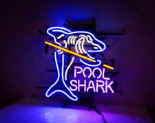 Shark Pool Game Room Snooker Beer Bar Boutique Home Wall Decor Neon Sign Light