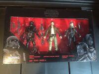 """Star Wars Rogue One Target Exclusive 3 pack Black Series 6"""" figures"""