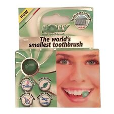 Rolly Smallest Mini Travel Camping Toothbrush Chewing Gum Fresh Breath Mint 1x 6