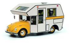 Schuco 1/18 Volkswagen Beetle Motorhome Yellow 450011300