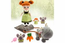 Disney Magasin Frozen Anna Mini Animator Poupée Jeu & Sven Renne, Cadeau Emballé