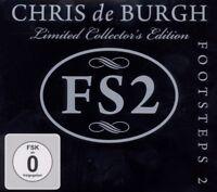 """CHRIS DE BURGH """"FOOTSTEPS 2"""" (CD+DVD) LIMITED EDT NEW!"""