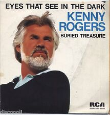 "KENNY ROGERS - Eyes that see in the dark - VINYL 7"" 45 ITALY 1983 NEAR MINT /VG+"