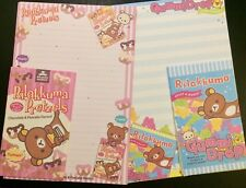 Rilakkuma Snacks Letter Set - Cute Korean Stationery - Kawaii writing paper