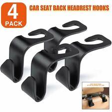 4pc Car Seat Back Headrest Hook Hanging Holder Storage Bag Hanger Hanging Holder