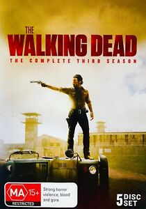 87 New Sealed The Walking Dead The Complete Third Season DVD Region 4