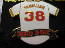 Red Sox #38 Curt Schilling-Jersey Pin