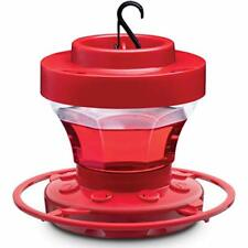 Hummingbird Feeders for Outdoors 16 oz. First Nature Bee Proof 1 Pack