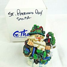 St Patrick's Day Crinkle Claus Celtic Golfer 659163 Possible Dreams 1999 Figurin