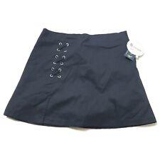 US Polo Assn Girls School Uniform Skirt Adj Waistband Pleated Scooter Size 14