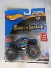 Hot Wheels 1:64 Monster Jam Truck Series Sudden Impact 53528 2002
