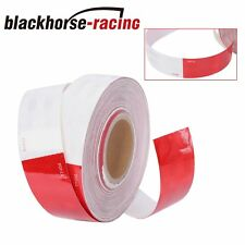 Conspicuity Tape Dot C2 Approved Reflective Trailer Red White 2x150 1 Roll