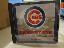 Chicago Cubs Greatest Hits Volume one Songs& Live Calls that rocked Wrigley!