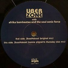 Afrika Bambaataa 2 kool 4 skool (with Überzone)  [Maxi-CD]
