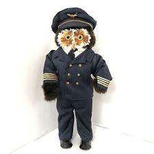 Vintage Owl Figure London Owl Company  'Sea Captain'1970's  Collectible 34032 CP