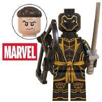 Hawkeye Ronin Avengers Endgame Marvel Heroes Figure Custom For Lego Minifig 62