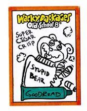 2019 Topps Wacky Packages OLDS8 Old School 8 Super Cigar Crisp Goodroad Sketch
