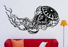 Jellyfish Sea Jelly Wall Decal Vinyl Sticker Animals Interior Art Decor (12jel)