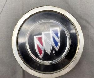 "91-92 Buick Roadmaster Wire Wheel Center Hub Cap Emblem 4 3/8"" GM OEM #1"
