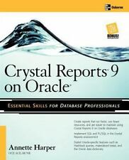 Crystal Reports 9 on Oracle