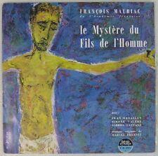 François Mauriac 33 tours 25 cm Le mystère du fils de l'homme Desailly Valère