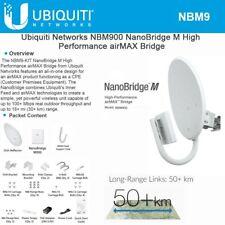 Ubiquiti NanoBridge M9, 900MHz NBM9 AirMax NBM900 complete antenna and radio