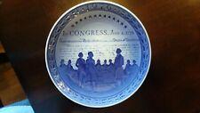 1976 Royal Copenhagen Plate Us Bicentenary - Declaration of Independence 1776