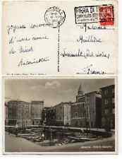 STORIA POSTALE 1950 TRIESTE DEMOCRATICA LIRE 10 SU CARTOLINA ILLUSTRATA D 3086