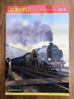 2018 A4 R8155 HORNBY Model Railway colour catalogue Edition Sixty Four 154 pages
