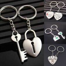 Couple Keychain For Him And Her Boyfriend Girlfriend Matching Heart Love Cute
