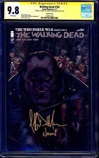 Walking Dead #162 NEGAN VARIANT CGC SS 9.8 signed Jeffery Dean Morgan INSCRIBED
