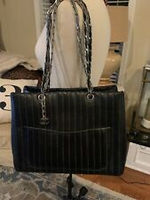 Authentic chanel large tote bag