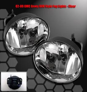 02 03 04 05 06 07 08 09 GMC ENVOY SLE SLT XL XUV SPORT 4DR BUMPER FOG LIGHT LAMP