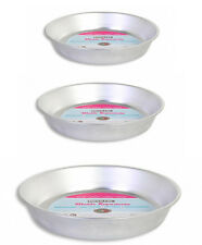 22,24,26cm Aluminium Baking Cake mould Tin Round Oven Tray Bakeware privilege