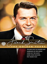 Frank Sinatra: The Golden Years (DVD, 2008, 5-Disc Set, Slipcase) New, Sealed!