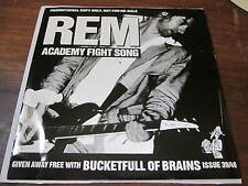 REM does MISSION OF BURMA punk rock 45 academy fight song promo 7""