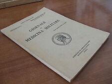 GIORNALE DI MEDICINA MILITARE n.9 del settembre 1938