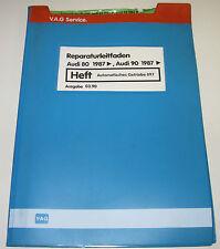 Werkstatthandbuch Audi Typ 89 B3 Automatisches Getriebe