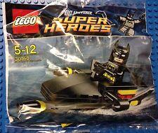 Lego DC Super Heroes Dark Knight Black 30160 Batman on Jetski minifigure NISB