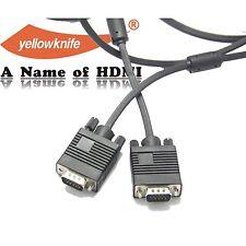 15FT Premium Super VGA HD15 Cable Male / Male SVGA w/ferrite cores 15 FT 4.6M