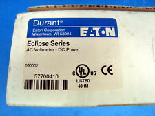 Eaton Eclipse AC Volt Panel Meter Dc Power 9-30VDC #57700410