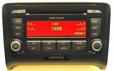 AUDI TT CONCERT CD PLAYER - MP3 - WITH CODE.