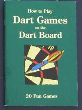 "Dart Games Book ""20 Fun Dart Games to Play"" - Less 30% DISCOUNT"