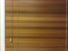 Blinds Venetian Western Red Cedar 45mm Slats Clear Lacquer Various drops & width