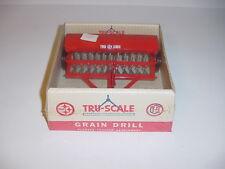 1/16 Vintage Tru Scale Grain Drill by Carter (1956) W/Bubble Box!