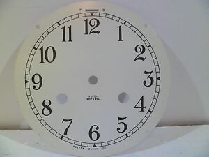 Fulton German Ships bell Clock Dial Salem Schatz Hermle