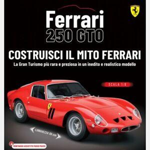 Costruisci la FERRARI 250 GTO in scala 1:8 Vol.46.47.48.49.50